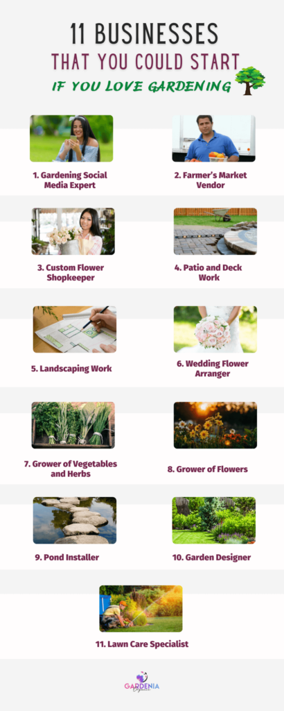 Businesses That You Could Start If You Love Gardening