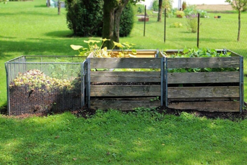 Fresh air is impostant for compost