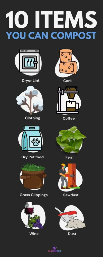 Things you can compost